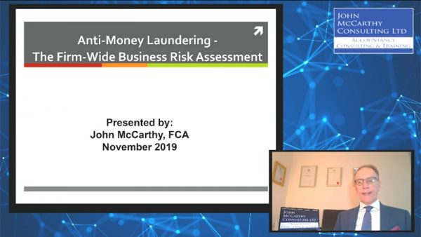 The AML Business-Wide Risk Assessment December 2019